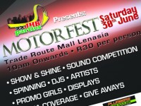 JHB PARTIES PRESENTS A MOTORFEST ON 30 JUNE AT TRADE ROUTE MALL