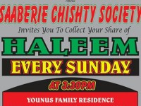 SAABERIE CHISHTY SOCIETY HALEEM DISTRIBUTION – LENASIA SOUTH