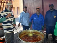 HALEEM DISTRIBUTION BY SAABERIE CHISHTY DURING RAMADAAN