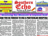 SOUTHERN ECHO AUGUST ISSUE NOW ONLINE