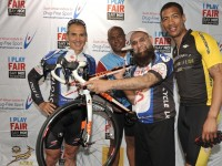 VADI LEADS 'I PLAY FAIR' 94.7 CYCLING TEAM