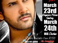PLAYBACK SINGER JAVED ALI TO PERFORM AT EMPERORS PALACE ON 23 MARCH 2013