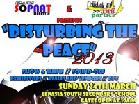 DISTURBING THE PEACE 2013 SHOW & SHINE & SOUND-OFF AT LENASIA SOUTH SECONDARY SCHOOL
