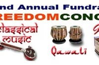 EWR Fundraising Freedom Day Concert to WOW Qawali, Ghazal and Classical music audiences at Gandhi Hall – 28 April 2013 at 3:00PM