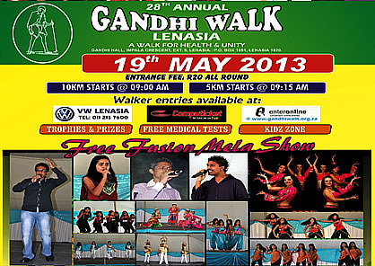"""BRING YOUR NEIGHBOUR TO THE GANDHI WALK"" – FREE FUSION MELA AT THE GANDHI WALK"