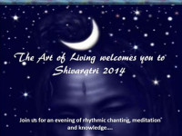 Art of Living welcomes Shivaratri 2014 on Thursday 27 February at Bozolli Hall, Wits University