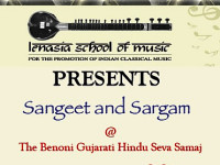 Sangeet & Sargam at Benoni Gujarati Hindu Seva Samaj Hall by the Lenasia School of Music