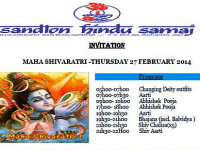 Sandton Hindu Samaj celebrates Maha Shivratri on Thursday 27 February