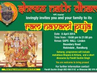 Ram Navami Puja hosted by Shree Nath Dham – Randburg
