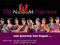 The Nadanam Experience at University of Johannesburg 23 August 2014