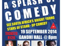 "Don't Miss Atlantis Swimming Clubs ""A SPLASH OF COMEDY"" Show on 19 September"