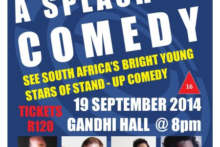 """Don't Miss Atlantis Swimming Clubs """"A SPLASH OF COMEDY"""" Show on 19 September"""