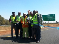 Official opening of R50 Million Randfontein-Tarlton Road
