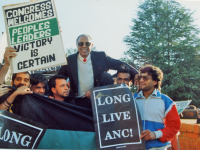 25th anniversary of Kathrada and Mlangeni's release
