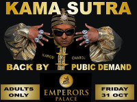 Kama Sutra live at Emperors Palace on Friday 31 October – Lenzinfo gives away a set of double tickets every week to our lucky subscribers