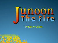 """Kishore Badal launches his newest book – """"Junoon the Fire"""" It is a collection of poems portraying the fabric of our existence, baring the truth and allowing us to delve into the reality of ourselves"""