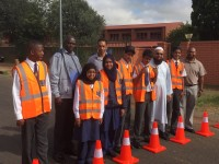 Lenz High learners Take on Roads Safety Challenge