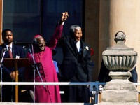 Tutu on Madiba on the 25th anniversary of his release