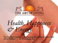 Art of Living Health, Happiness & Energy programme