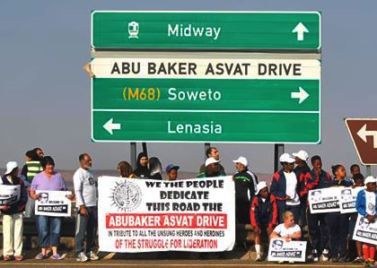 Joint statement from Abu Asvat Institute and Lenasia Active Citizenry Of Meeting with MEC Ismail Vadi on Saturday 23rd May 2015