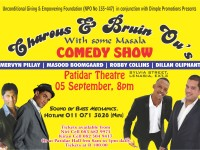 Charous & Bruin Ou's with some Masala Comedy Show 5 Sep 2015