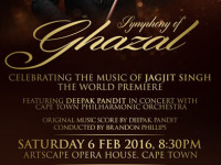 Indian violin maestro to perform world premiere of new concert with Cape Town Philharmonic Orchestra