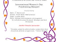 Nisaa's International Women's Day Fund Raiser 5 March 2016 @TradeRouteMall with @Abramjee & @JackD157