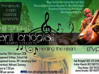 Therapeutic Indian Classical Symphony healing concert 20 Feb at Sagewood College School Hall Midrand