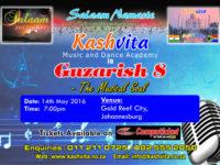 Kashvita Music & Dance Academy presents Guzarish 8 at Gold Reef City on 14 May 2016