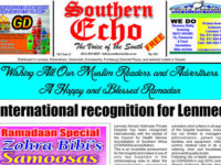 Read the Southern Echo May 2016 edition now online