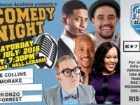 Lenasia Soccer Academy Presents Comedy Night on Sat 23 July at Partidar Hall